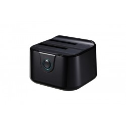 CAJA EXTERNA DOCKING STATION TOOQ TQDS-802B 2XSATA 2.5/3.5 USB 3.0 NEGRO